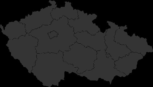 Mapa - výjezdní místa
